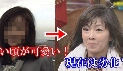 永井美奈子の若い頃が可愛いと話題!今現在は劣化した?比較画像!