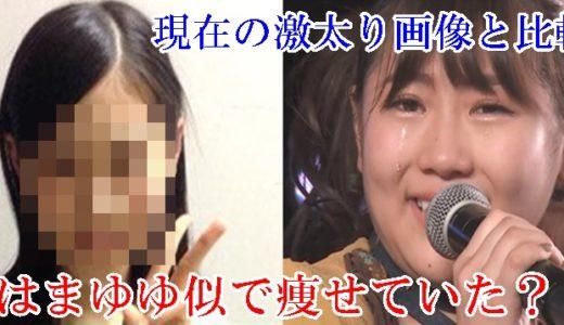 西野未姫の昔はまゆゆ似で痩せていた?現在の激太り画像と比較!